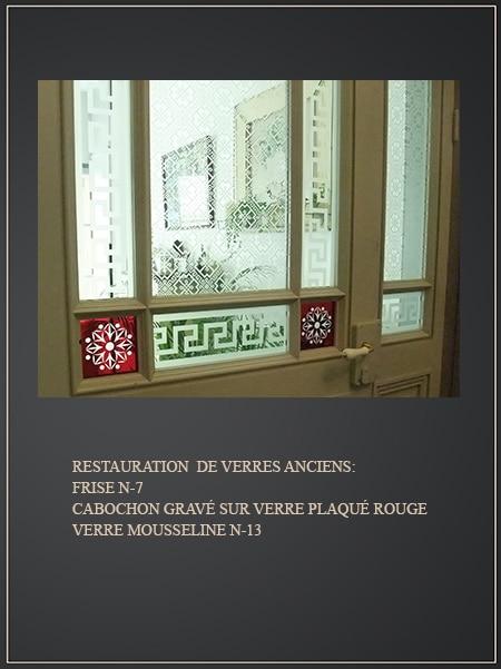 Portes anciennes vitr es blog sur les vitres a d cors en - Carreau porte vitree ...