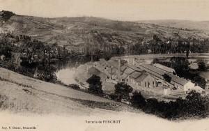 Les verreries en France vers 1872