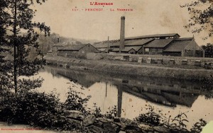 Verrerie de Boisse-Penchot vers 1913