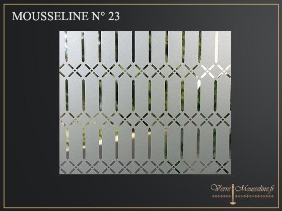 vitrage décoratif N-23