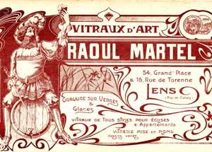 Atelier de gravure sur verre Raoul MARTEL