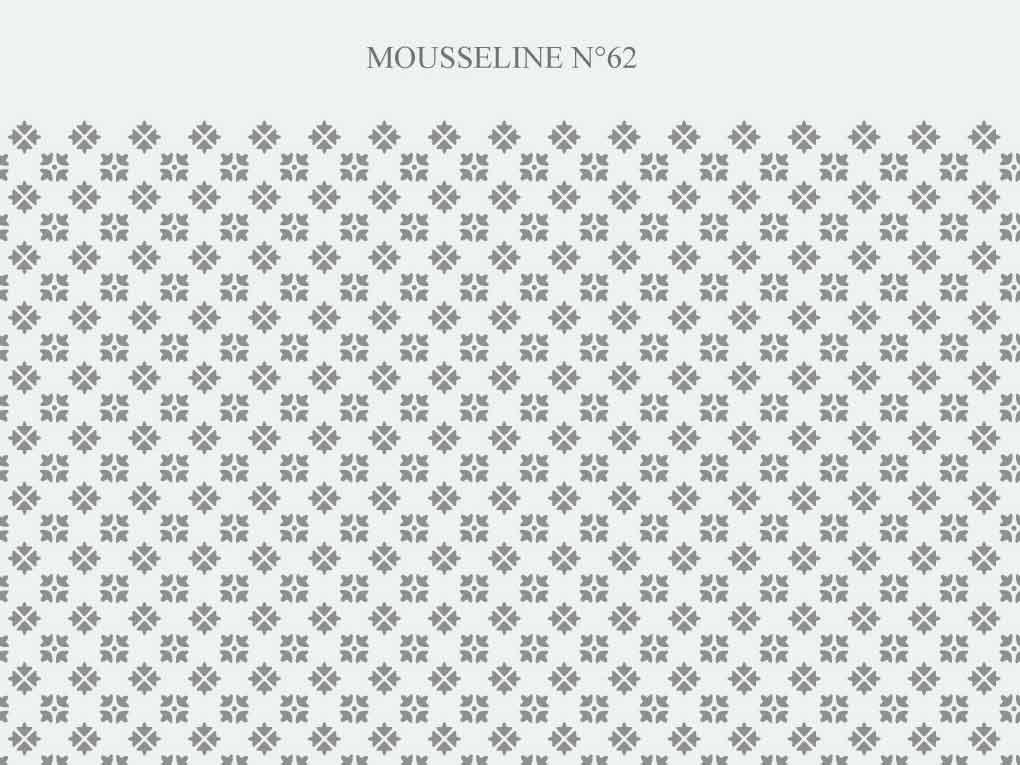 motif Mousseline N-62