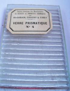 Le verre prismatique Aniche