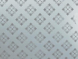 vitre mousseline mat