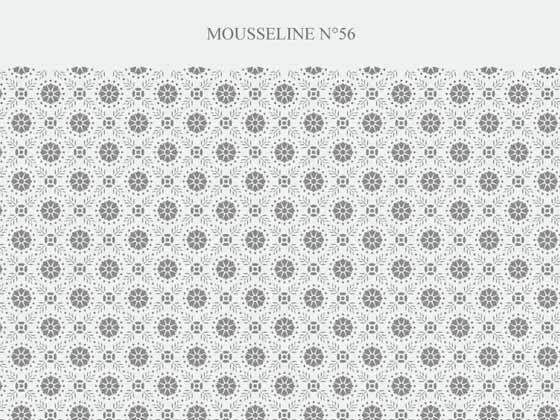 Mousseline dessin indien 527