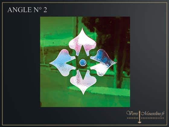Carreau verre de porte ancienne en couleur - Carreau de verre lumineux ...