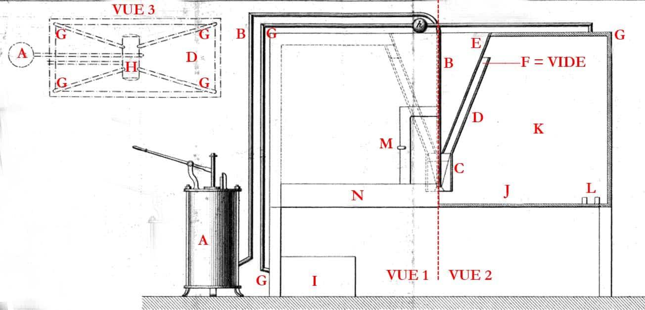 Machine de fabrication de verre Mousseline