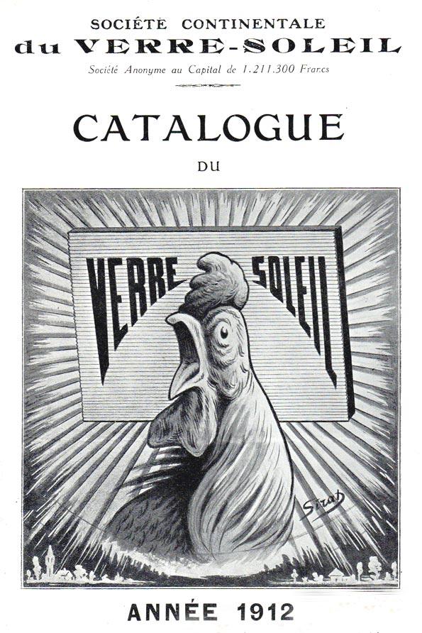 Verre soleil prismatique 1912