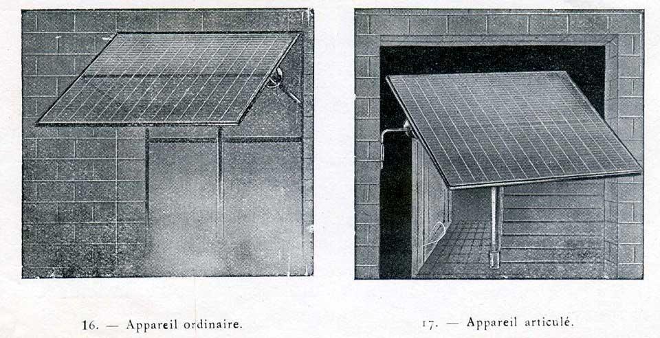 Réflecteur de lumière en Verre Soleil 1912