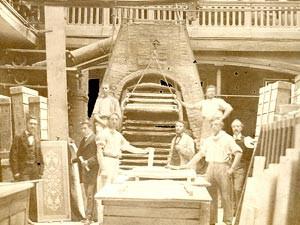 Atelier verrier Gugnon et Fils 1870