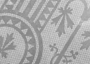 vitre ancienne art-deco
