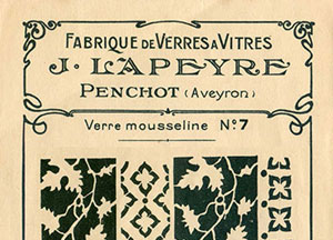 Catalogue verrerie lapeyre 1898