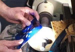 Gravure sur verre à la roue