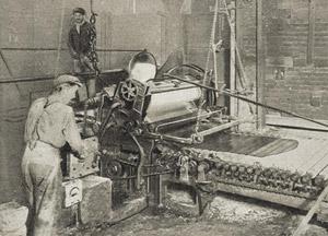 machine a imprimer le verre