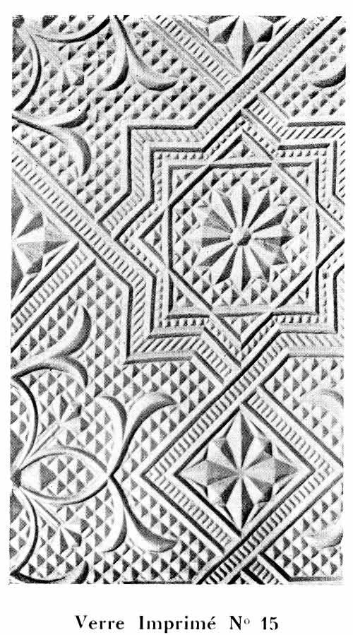 Verre a relief Art Nouveau N-15