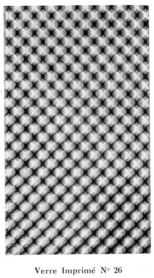 verre imprime industriel 1933