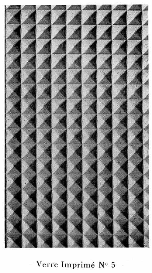Vitrage a relief imprimé N-5