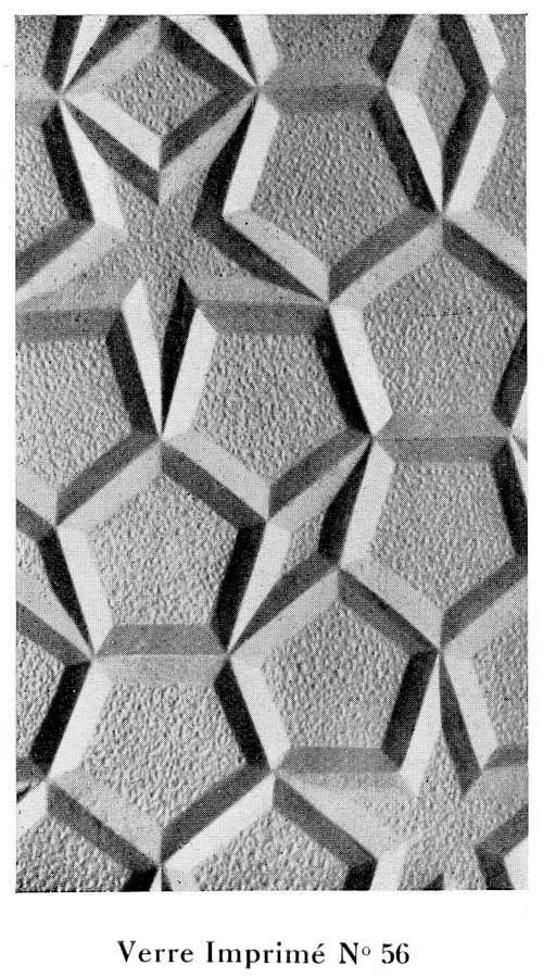 Vitres motifs en reliefs N-56