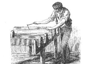 ouvrier verrier ancien