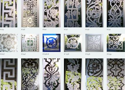 Mod les de frises et carreaux de portes en verre ancien - Carreaux verre pour porte interieure ...