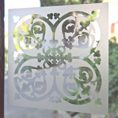 Carreau verre style renaissance