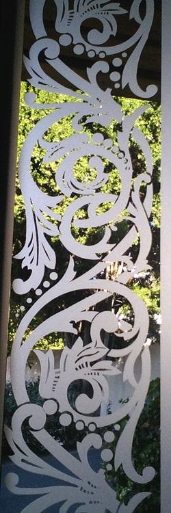 Dessin frise mousseline 15ème siècle