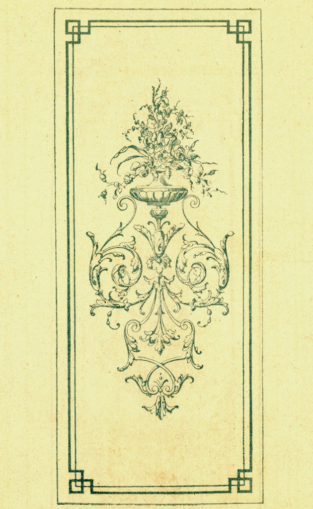 Dessin du catalogue original LELEU - VAN LIERDE