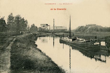 Verrerie de Jeumont 1900