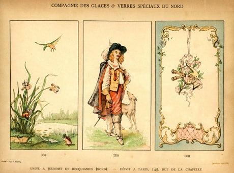 Panneaux décoratifs en verre émaillé