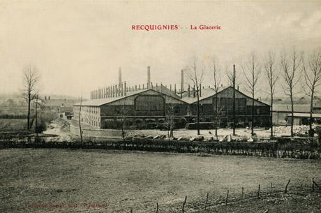 Verrerie de Recquignies 1900