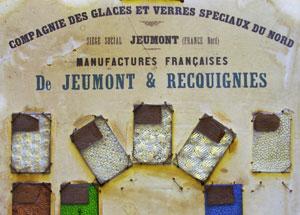 La compagnie de glaces et verres speciaux du Nord de Jeumont et Requignies