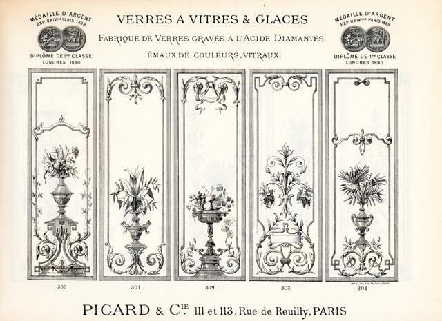 Ancienne glaces 1900