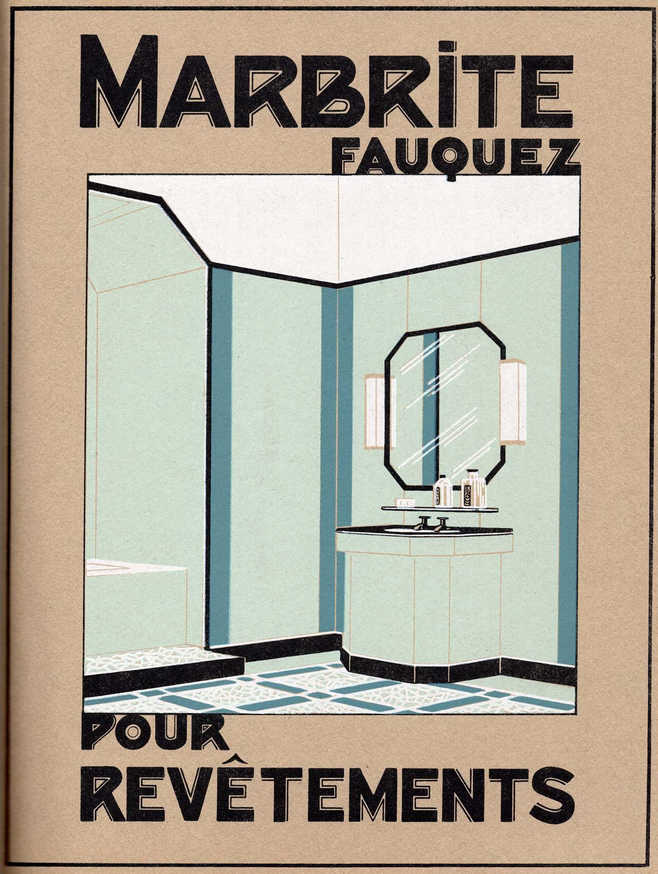 Marbrite Fauquez revêtement