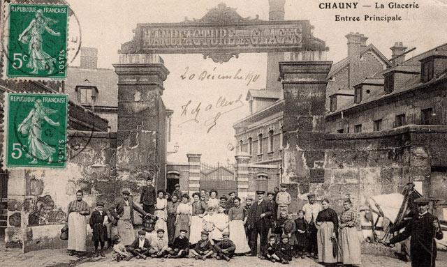 Verrerie de Chauny 1911
