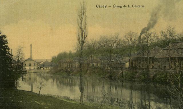 Verrerie de Cirey Meurthe et Moselle