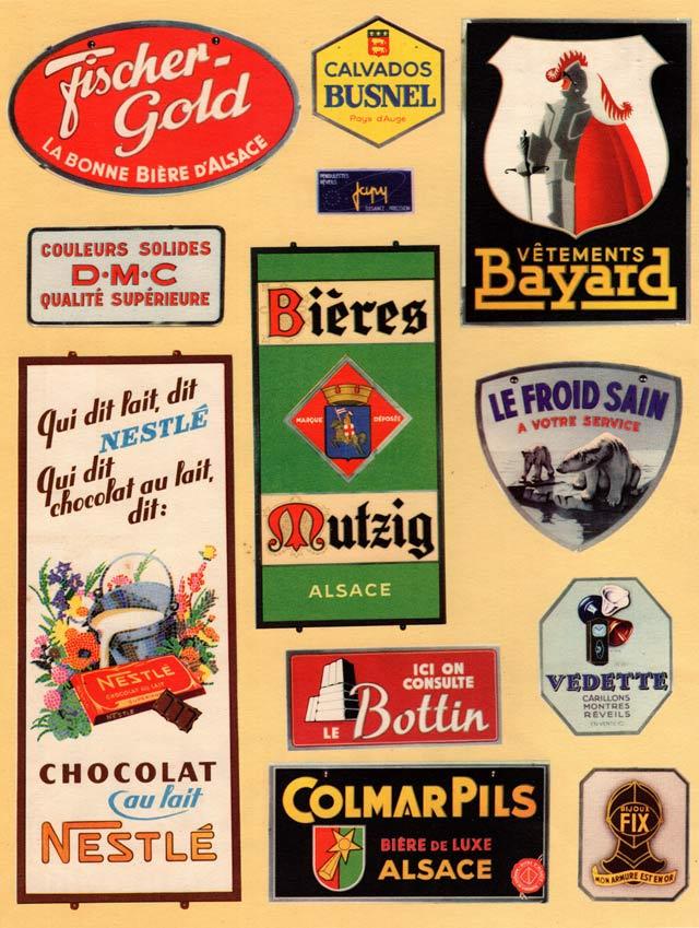 Affiches publicitaires en verre serigraphie