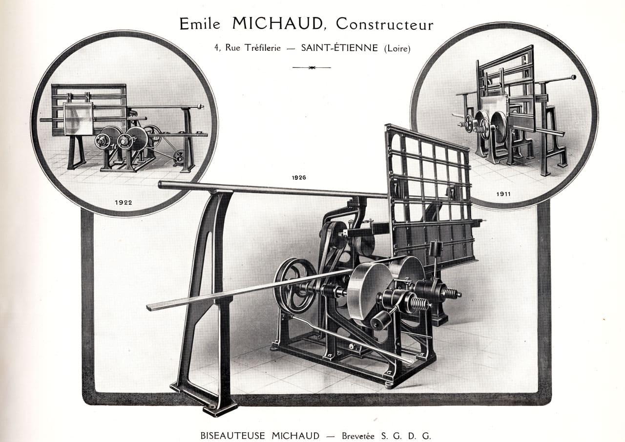 biseauteuse Michaud 1926