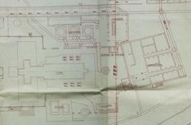 Ancien plan de la verrerie de Boisse Penchot.