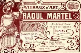 Raoul Martel Peintre verrier