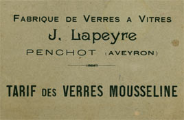 Catalogue de vitrage Lapeyre Aveyron