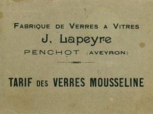 Lapeyre vitrage 1898