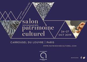 Salon du patrimoine culturel carrousel du Louvre 2019