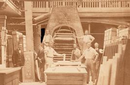 Gugnon atelier verrier 1870