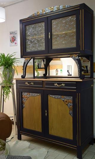 mobilier art déco en bois