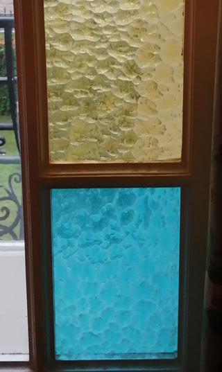 verres imprimés couleur