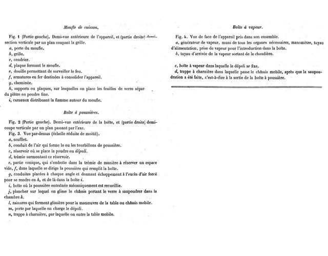 description de la machine Aubriot