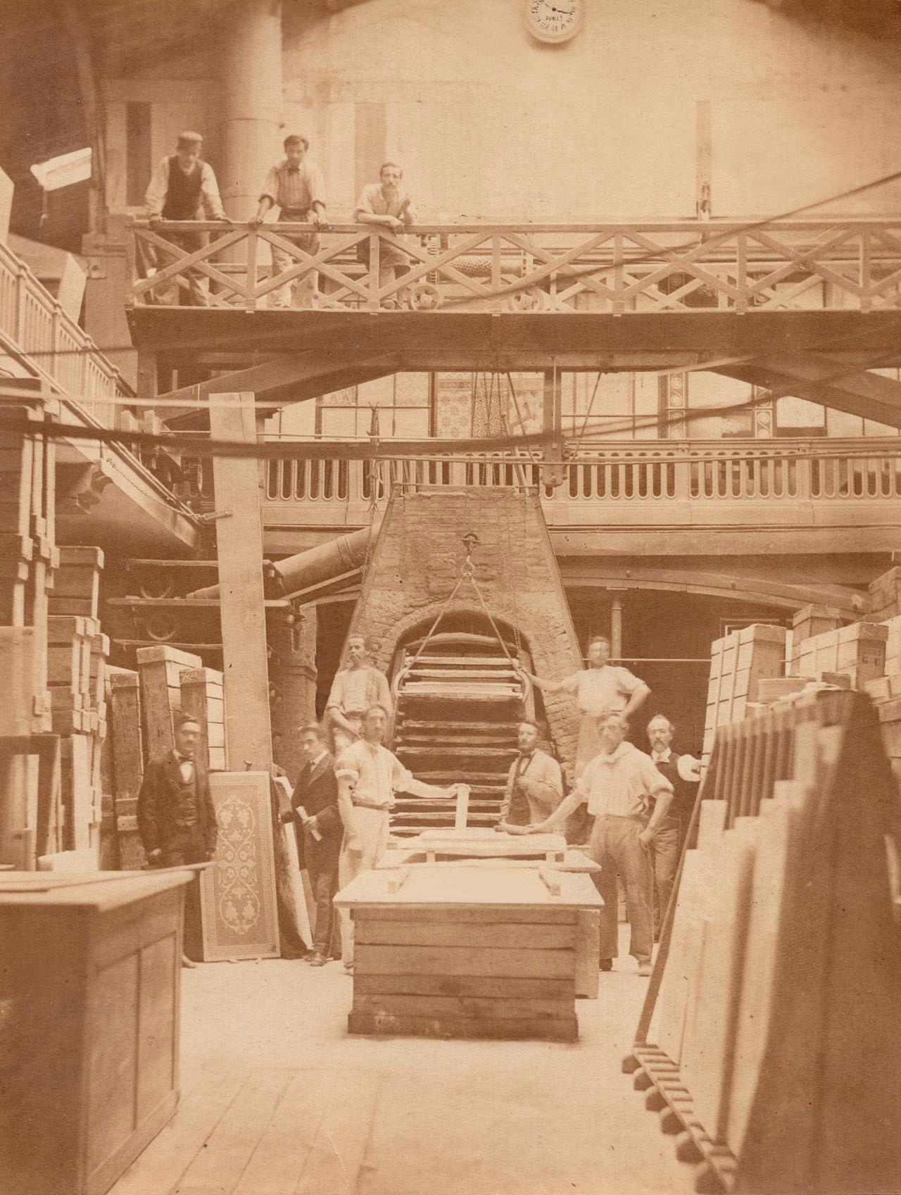 Atelier Gugnon.Fils Paris 1864 - 1877