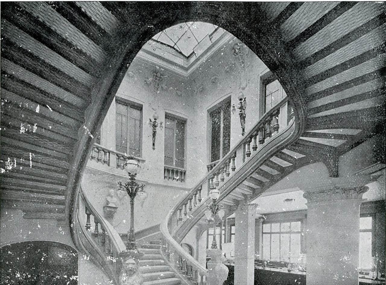 Escalier 1910
