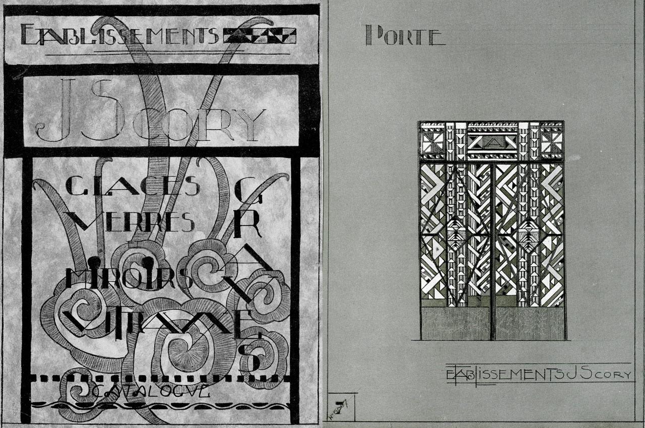 Catalogue de dessin art-deco
