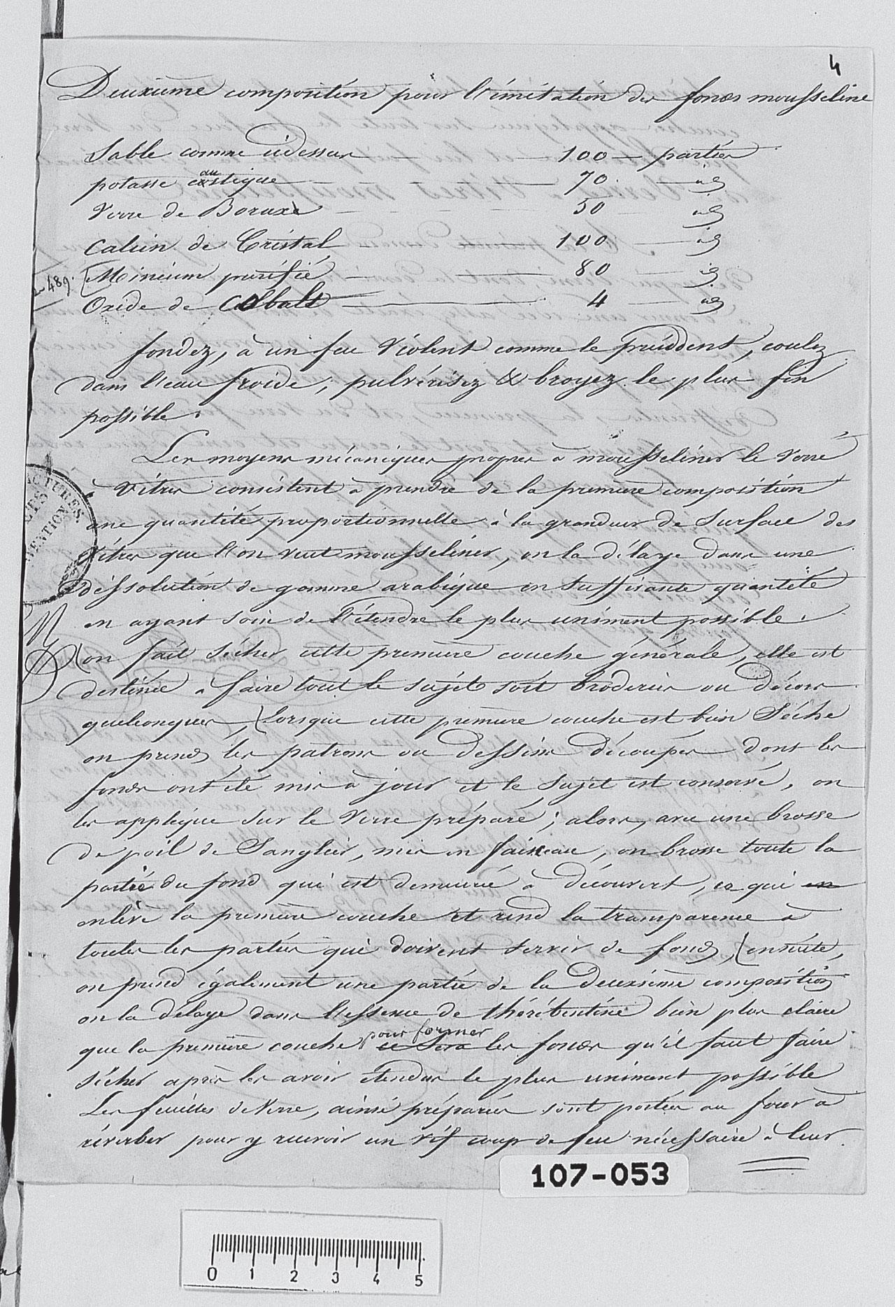 Brevet Dumas et Godard 1842 Partie 4